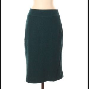 Banana Republic Green Skirt